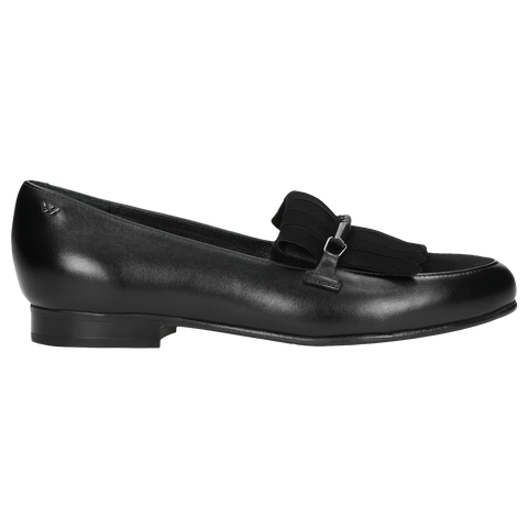 Black Leather Loafers | 4604571