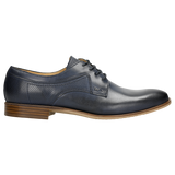 Dark Blue Leather Dress Shoes | 1000556