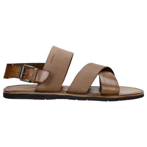Brown Leather Sandals | 2900752
