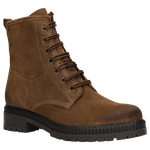 Brown Leather Ankle Boots | 6400462