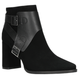 Black Leather Ankle Boots | 5507171