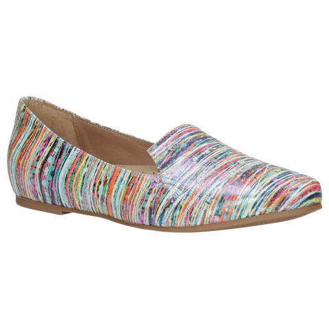 Multicolor Leather Ballet Flats | 4500365