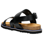 Black Leather Sandals | 2900251