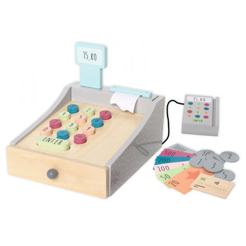 Wooden Toy Cash Register | W7166