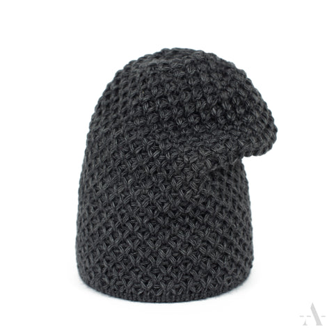 Dark Gray Long Winter Beanie | 20826-1