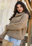 Light Brown Sweater | NESSI