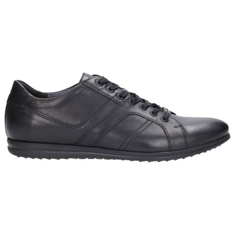 Black Leather Sneakers | 807551