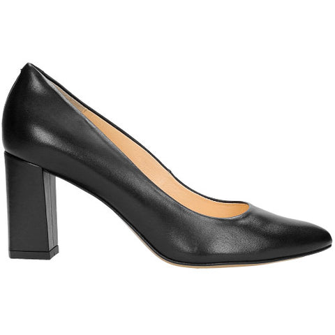 Black Leather High-Heels | 738251