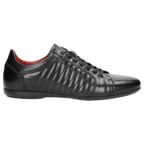 Black Leather Sneakers | 901251