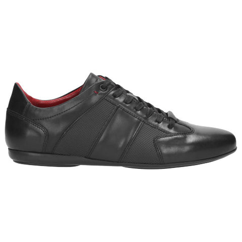 Black Leather Sneakers | 901351