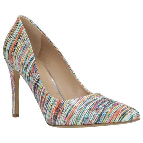 Multicolor Leather Heels | 3502465