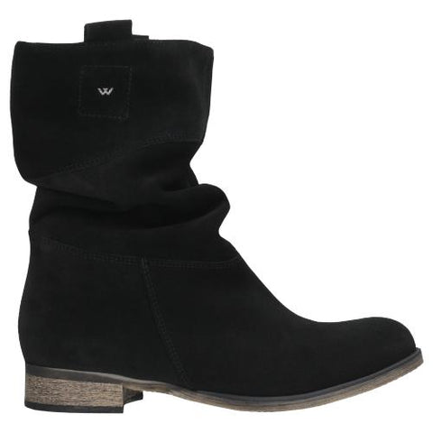 Black Leather Ankle Boots | 957361