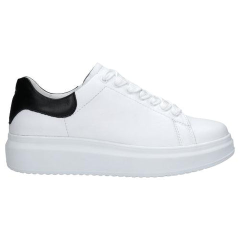 White Leather Sneakers | 4602059-M