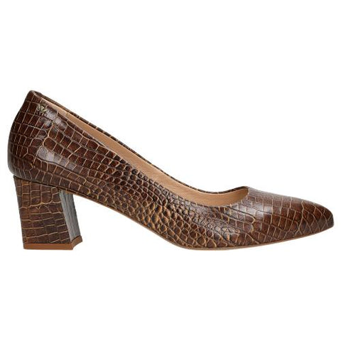 Brown Leather High Heels | 929652
