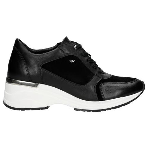 Black Leather Sneakers | 4606171
