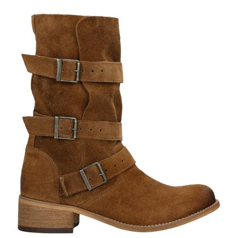 Brown Leather Ankle Boots | 5506962