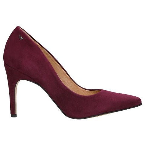 Oxblood Leather High Heels | 3504065