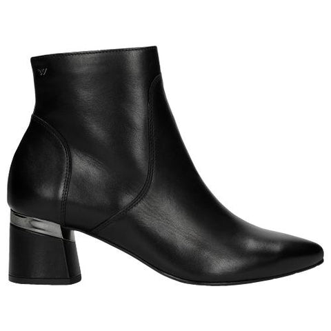 Black Leather Ankle Boots | 5505651