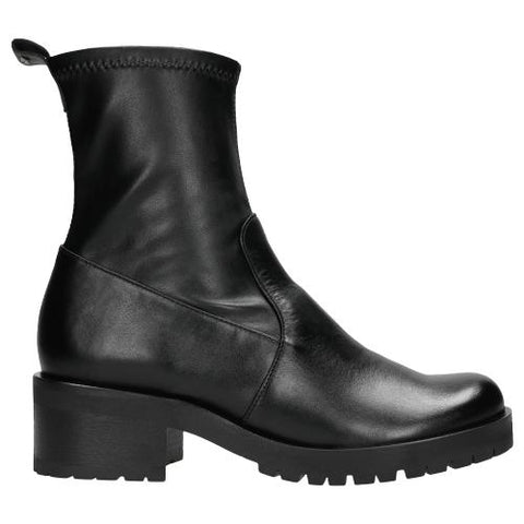 Black Leather Ankle Boots |  5508481