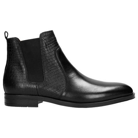 Black Leather Ankle Boots | 2000351