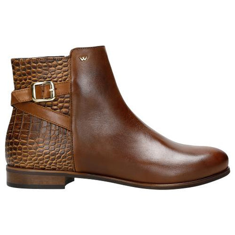 Brown Leather Ankle Boots | 5506652