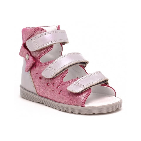 Pink Leather Sandals | 81803/0-K88