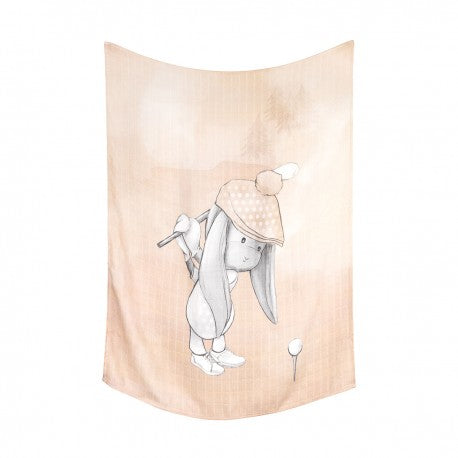 Light Brown Bamboo Swaddle Effik Golfer | OB70G