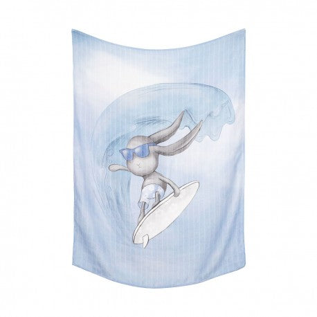Blue Bamboo Swaddle Effik Surfer | OB70S