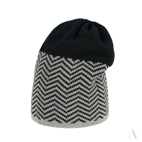 Black Long Winter Beanie | 16583-1