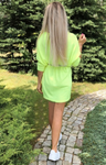 Neon Yellow Knitted Tunic | VERA