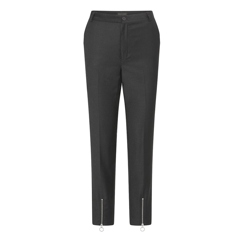 Regular-slim-fit suit pants with stretch.