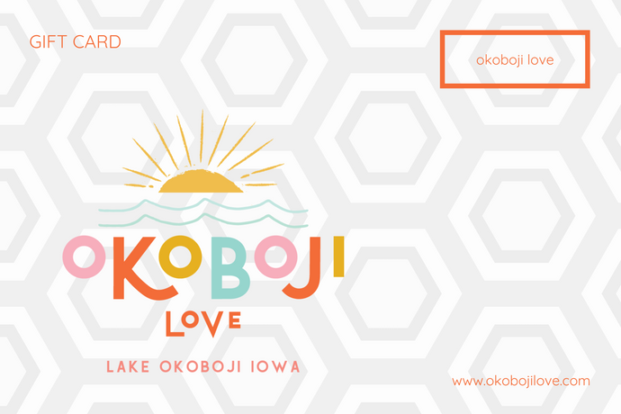 okoboji love gift card