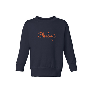 okoboji sweatshirt for toddlers