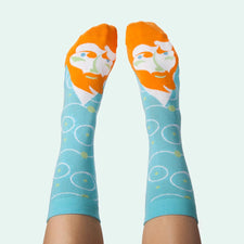 Fun Socks for Artists - Vincent Van Toe