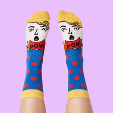 Pop Art Socks - Modern Artist Collection