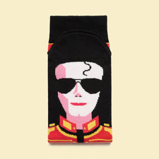 Cool Music Socks - Michael Jack-Toes