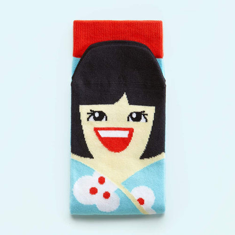 Crazy Socks - Unique Gifts for Friends- Yoko