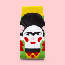 Fun Socks for Women Artists- Frida Callus