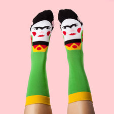 Funny Women's Socks for Art Lovers