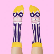 Funny Dress Socks - Eltoe John