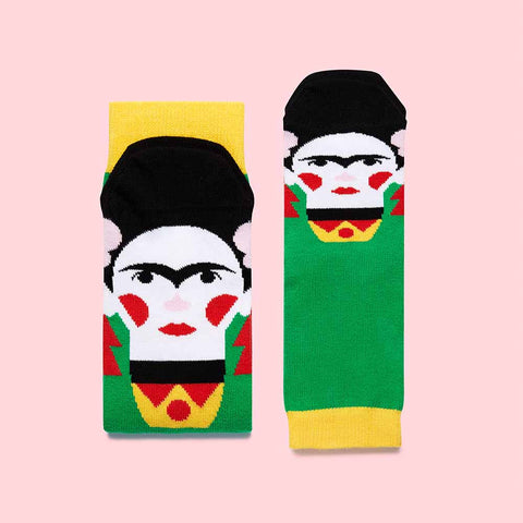 Fun Art Socks for Families- Frida