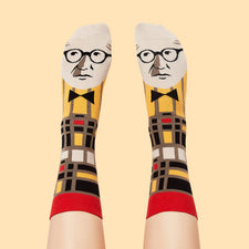 Cool Socks for Architects - Corbusier