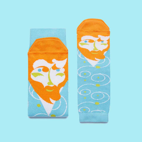 Vincent Van Toe Socks for Families