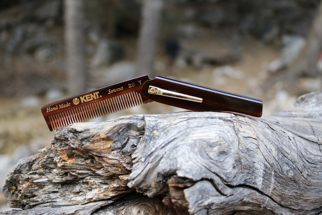 Kent Folding Pocket Comb