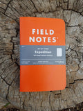 Field Notes Personal Notebook 3-Pack- EXPEDITION EDITION