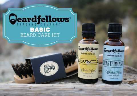 Beardfellows Basic Beard Care Kit