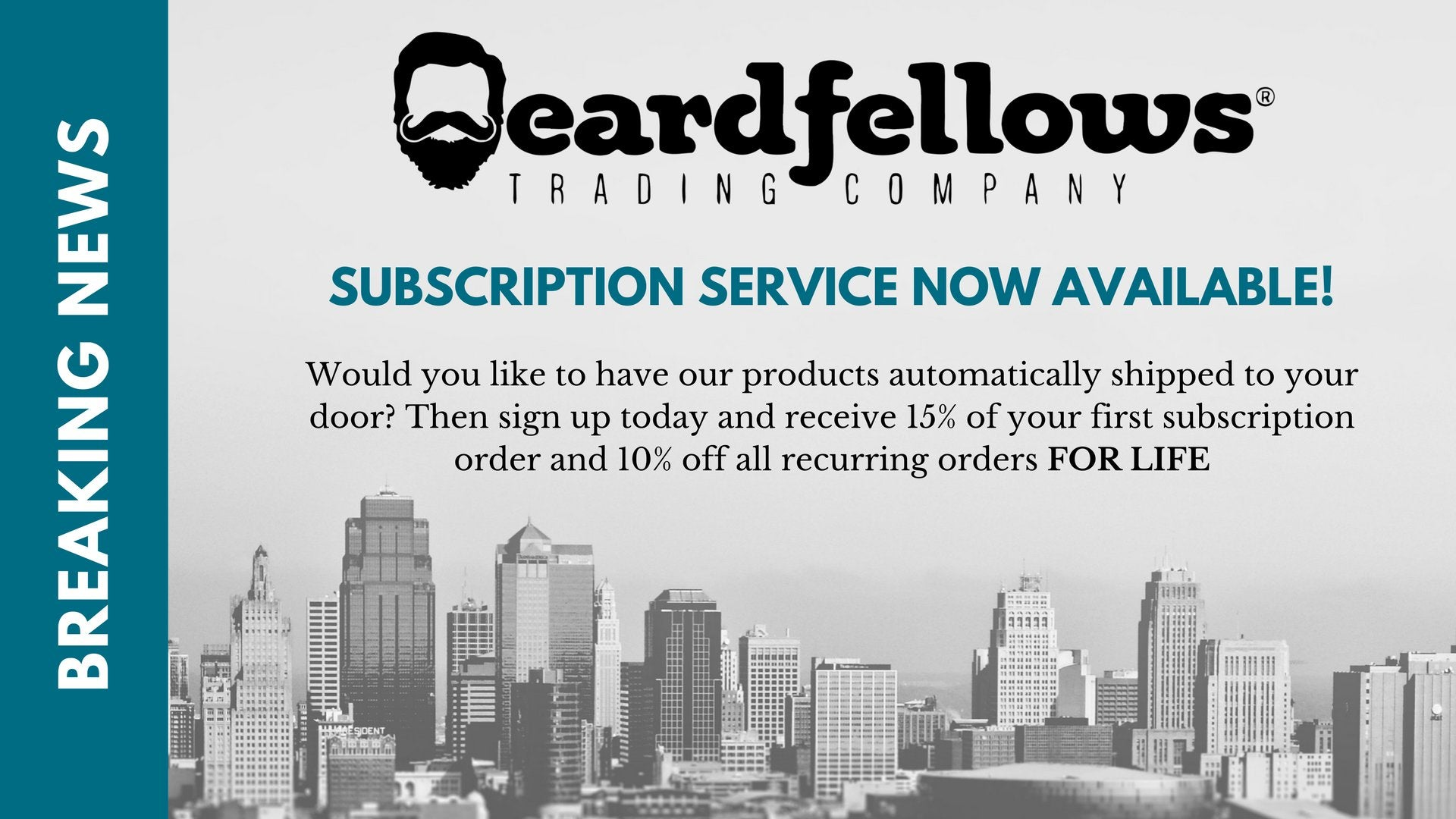 Beardfellows Trading Company Subscription Service
