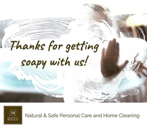 Thank you for getting soapy with us