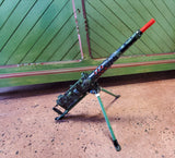 Vintage Marx Toy Flashing Machine Gun. Lights, Sound and Motion work perfect!