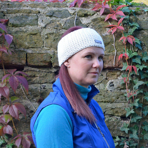 Soft and Chunky Merino Headband